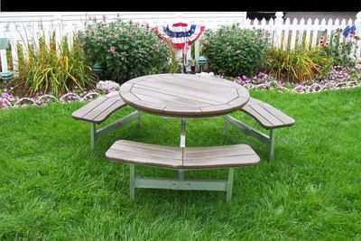 Picnic tables polywood furniture traditional style picnic tables watchthetrailerfo