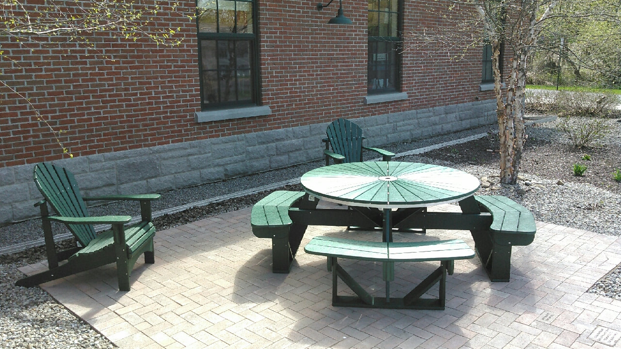Picnic Tables Polywood Furniture - Polywood picnic table with benches