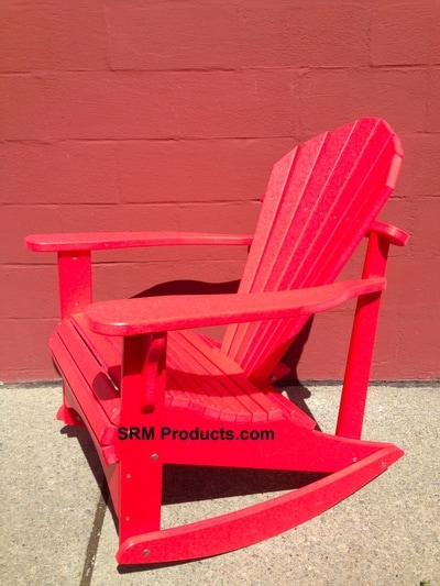 Fabulous Waterfall Adirondack Chairs With Trex Rocking Chair