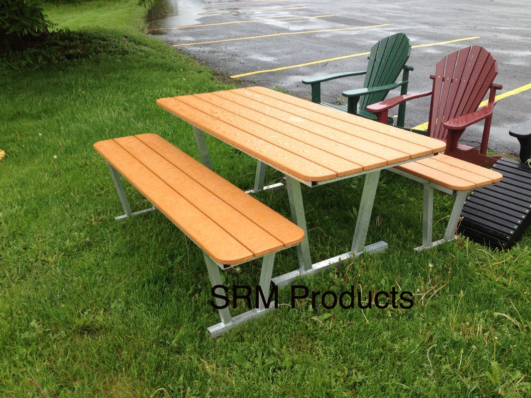 Picnic Tables Polywood Furniture - 6 sided picnic table